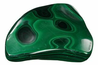 "3.6"" Beautiful, Polished Malachite Specimen - Congo For Sale, #159878"