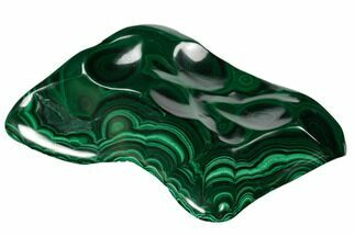 "5.8"" Beautiful, Polished Malachite Specimen - Congo For Sale, #159905"
