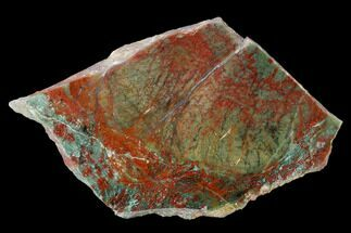 "4.4"" Polished Fuchsite Chert (Dragon Stone) Slab - Australia For Sale, #160343"