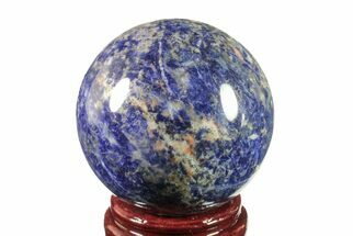 "Buy 4"" Polished Sodalite Sphere  - #161350"