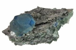 Fluorite & Quartz - Fossils For Sale - #161784