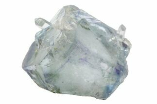 ".42"" Cubic Blue Fluorite with Quartz - China For Sale, #161600"