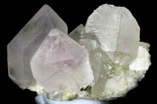 "Buy 1.25"" Amethyst and Calcite Crystal Association - China - #161623"