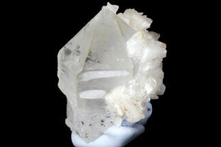 "1.15"" Quartz Scepter Crystal with Dolomite and Calcite - China For Sale, #161624"