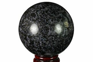 "3.2"" Polished, Indigo Gabbro Sphere - Madagascar For Sale, #163349"