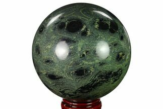 "Buy 5"" Polished Kambaba Jasper Sphere - Madagascar - #159658"