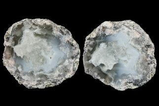 "Buy 3"" Las Choyas ""Coconut"" Geode with Calcite & Agate - Mexico - #165391"