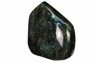 "3.9"" Flashy, Polished Labradorite Free Form - Madagascar For Sale, #167105"