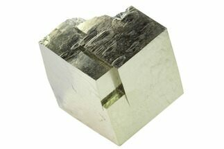 "Buy 1.6"" Natural Pyrite Cube - Victoria Mine, Spain - #168586"