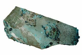 Chrysocolla & Quartz - Fossils For Sale - #169248