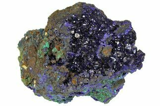 Azurite & Malachite - Fossils For Sale - #170028