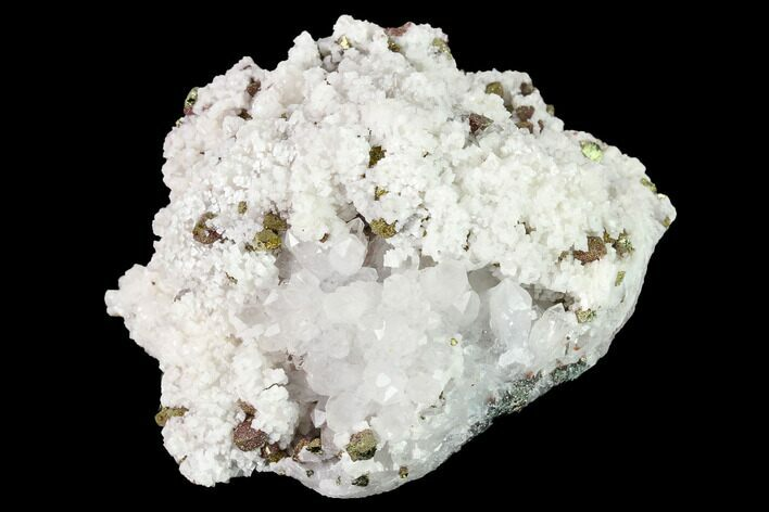 "2.7"" Quartz, Dolomite and Chalcopyrite Association - China"