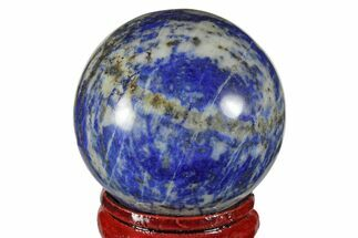 "1.5"" Polished Lapis Lazuli Sphere - Pakistan For Sale, #170804"