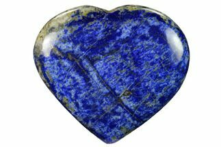 "Buy 4.2"" Polished Lapis Lazuli Heart - Pakistan - #170950"