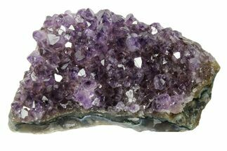 "Buy 3.4"" Dark Purple, Amethyst Crystal Cluster - Uruguay - #171802"