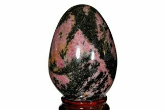 "Buy 2.95"" Polished Rhodonite Egg - Madagascar - #172507"