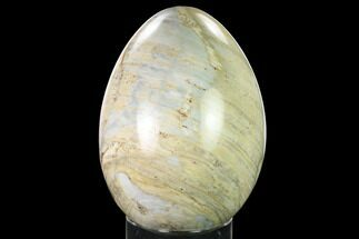 "Buy 6.3"" Polished, Colorful Jasper Egg - Madagascar - #172777"