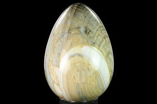 "8.9"" Polished Polychrome Jasper Egg - Madagascar For Sale, #172778"