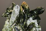 "2.3"" Quartz and Epidote Crystal Association - Pakistan - #175083-3"