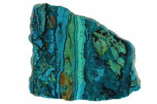 Chrysocolla & Malachite - Fossils For Sale - #175527