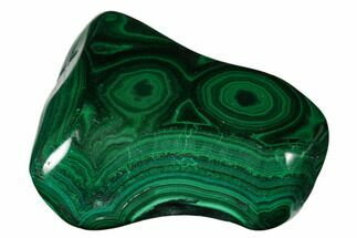 "Buy 3.1"" Beautiful, Polished Malachite Specimen - Congo - #176065"
