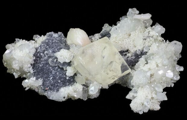 STILBITE crystal formation
