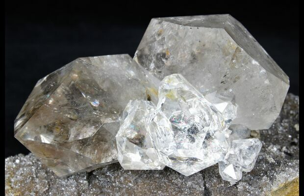 Large Calcite Cluster from Herkimer NY